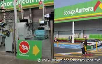 Adiós cajeros, instalan cajas autocobro en Bodega Aurrera Comalcalco - El Heraldo de Tabasco