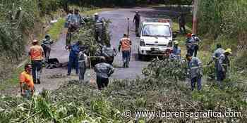 Cierran calle de Soyapango por daños en bóveda - La Prensa Grafica