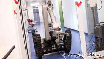 Technik: AG Pinneberg einsturzgefährdet: Roboter bergen Akten