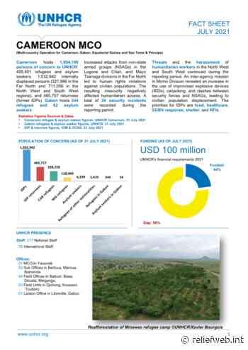 UNHCR Cameroon MCO Factsheet - July 2021 - Cameroon - ReliefWeb
