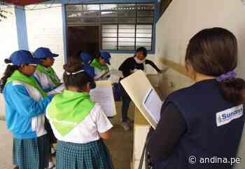 Moquegua: 40 escolares de provincia Mariscal Nieto se convierten en brigadieres del agua - Agencia Andina