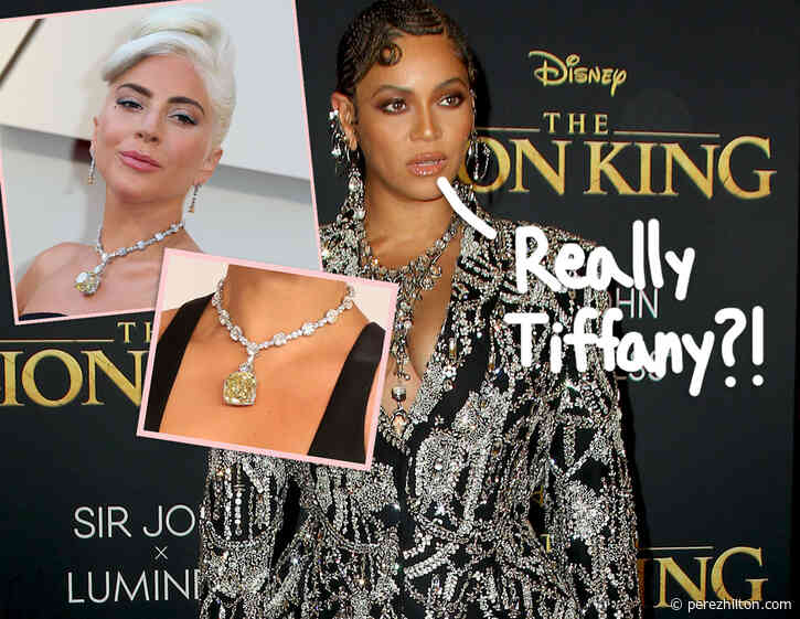 Beyoncé 'Disappointed & Angry' To Learn She Wore A 'Blood Diamond' In Tiffany & Co. Photo Shoot