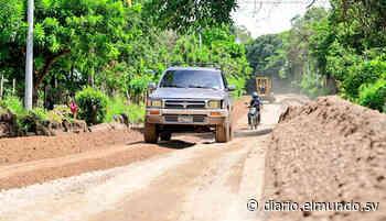 Pavimentarán 12 kilómetros de carretera en paso fronterizo entre Chalchuapa y Guatemala - Diario El Mundo