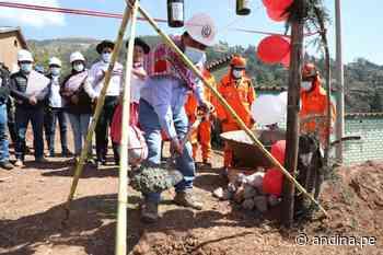 Ayacucho: inician obras de mejoramiento del sistema de riego Negro Puquio en Socos - Agencia Andina