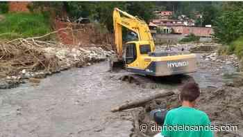 Inició el dragado de la quebrada Mejías en el municipio Pinto Salinas de Mérida - Diario de Los Andes
