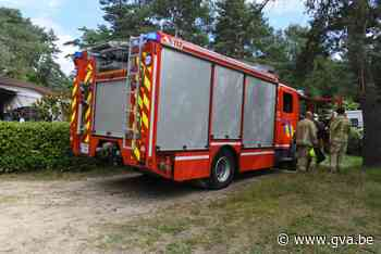 Buren blussen brandje op camping (Balen) - Gazet van Antwerpen