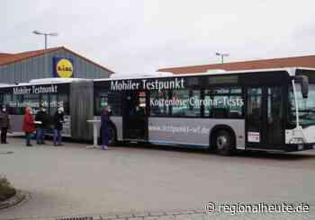 Jetzt geht es los: Corona-Testbus in Cremlingen gestartet - regionalHeute.de