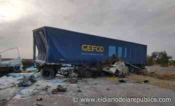 Un camionero murió en un choque frontal en Villa Mercedes - El Diario de la República