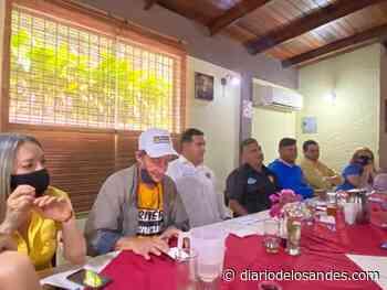 Conrado Pérez Linares presentó candidato por Alianza Democrática para alcaldía de Boconó - Diario de Los Andes