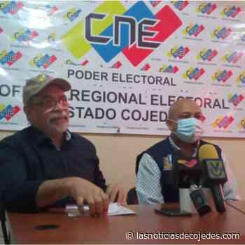 Pedro Calzadilla: En Cojedes hay 270 mil electores para el 21-N - Las Noticias de Cojedes