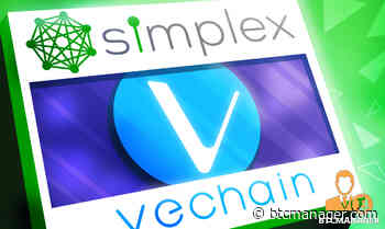 Simplex Adds Fiat Onramp Support for VeChain (VET) | BTCMANAGER - BTCMANAGER