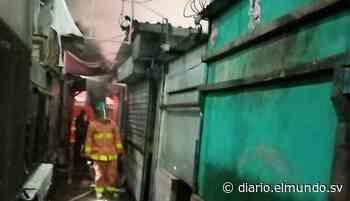 Incendio consume puesto de carnes en el mercado de Cojutepeque - Diario El Mundo
