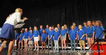Festival im Blumengarten Bexbach für Kinder- und Jugendchöre - Saarbrücker Zeitung