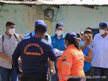 Atienden a 45 familias de Cúpira afectadas por aguaceros - Últimas Noticias