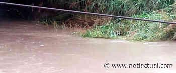 Río Cúpira se desborda y bloquea el paso a Machurucuto - NotiActual