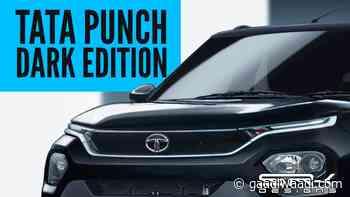 Tata Punch (Maruti Ignis Rival) Digitally Imagined In Dark Edition Avatar - GaadiWaadi.com
