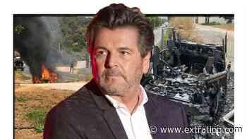Flammen-Drama bei Schlagerstar Thomas Anders auf Ibiza: sein Auto brennt - extratipp.com