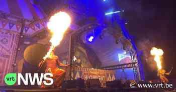 Vuurspuwact gaat mis tijdens festival in Ieper: vrouw loopt zware brandwonden op - VRT NWS
