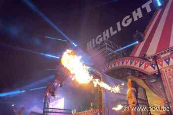 Act met vuurspuwers gaat mis op Iepers dancefestival: vrouw loopt zware brandwonden op - Het Belang van Limburg