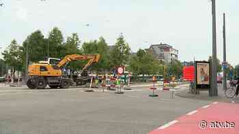 Drukke steenweg in Mortsel twee dagen volledig afgesloten - ATV