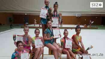 Rhythmische Sportgymnastik: Endlich wieder ein Wettkampf vor Publikum | svz.de - svz – Schweriner Volkszeitung