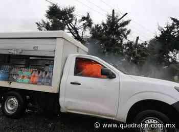 Comuneros bloquean la Paracho Nahuatzen - Quadratín - Quadratín Michoacán