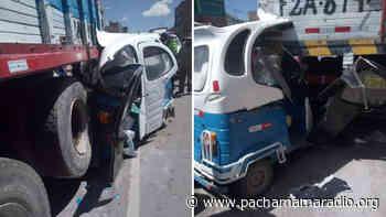 Accidente deja un herido de gravedad en la ciudad de Ilave - Pachamama radio 850 AM