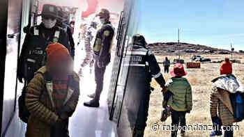 Ilave: Niños caminaron varios kilómetros en busca de sus padres. Se dirigían hacia la mina La Rinconada - Radio Onda Azul