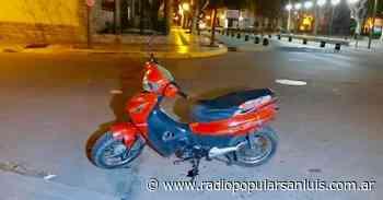 Villa Mercedes: Un murió luego de que le robaran su moto - Radio Popular