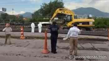 Mueren 5 trabajadores al caer una grúa en Texcoco Lechería - José Cárdenas