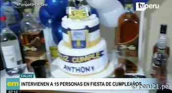 Intervienen a cumpleañero que generaba molestias a sus vecinos en el Callao - Diario Perú21