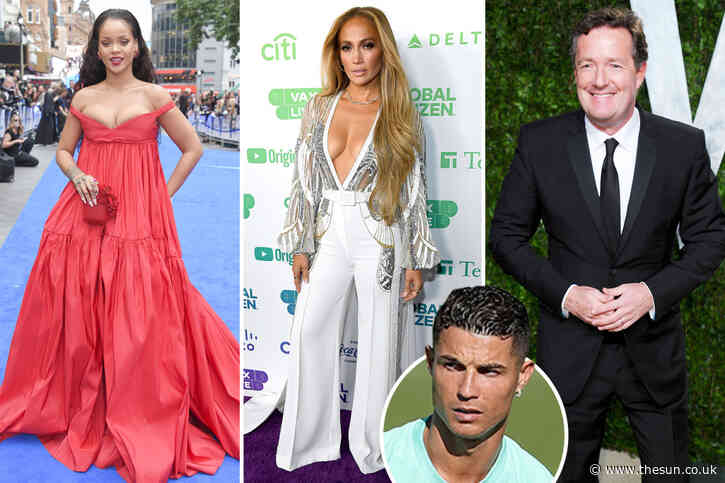 Piers Morgan one of just 57 people Cristiano Ronaldo follows on Twitter.. so who else is on Man Utd legend's list?