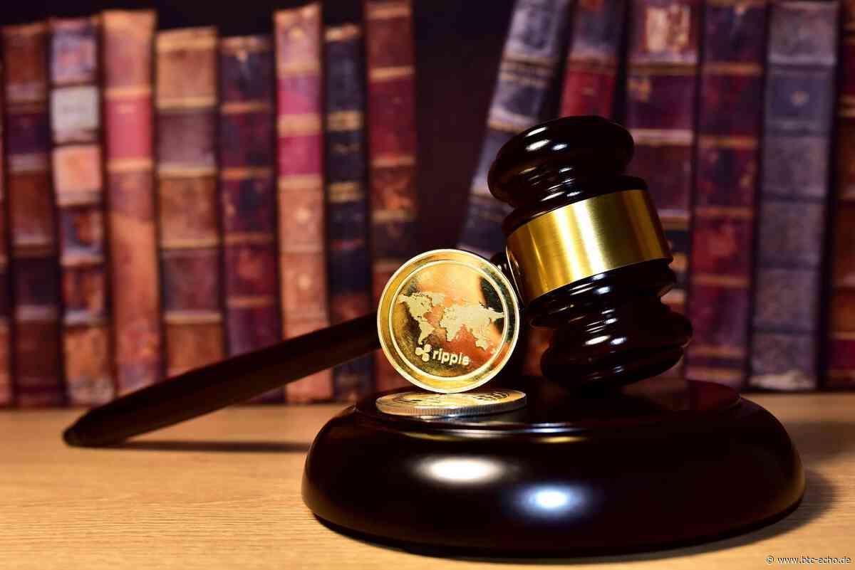Ripple auf Angriffskurs: Besaß das SEC-Personal XRP? - BTC-ECHO | Bitcoin & Blockchain Pioneers