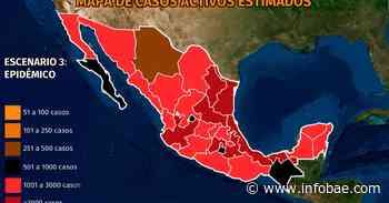 Mapa del coronavirus en México 31 de agosto: la tercera ola comienza a ceder con 30 entidades con casos a la baja - infobae
