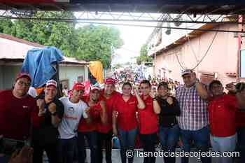 PSUV inscribió a sus candidatos en Cojedes - Las Noticias de Cojedes