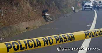 Mujer pierde la vida al ser atropellada en carretera de Oro, Soyapango - Solo Noticias