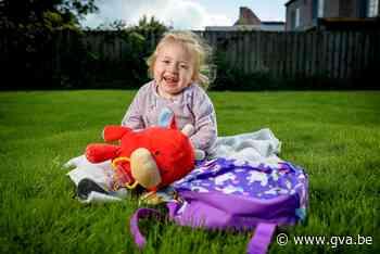 """Ook baby Pia klaar voor het eerste kleuterklasje: """"En eigenlijk ging ze de leeftijd om naar school te gaan niet halen"""" - Gazet van Antwerpen"""