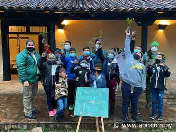 """Capacitan a niños para que sean """"Guardianes del Parque """"en Ybycuí - ABC Color"""