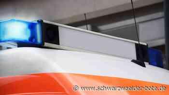 Unfall bei Rangendingen - Auto überschlägt sich - mehrere Verletzte - Schwarzwälder Bote
