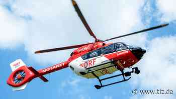 Junge nach Radunfall nahe Menteroda ins Krankenhaus geflogen - Thüringische Landeszeitung