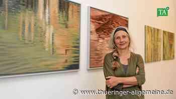Uta Oesterheld-Petry zeigt in Bad Langensalza Kunst im Spannungsfeld - Thüringer Allgemeine