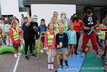 Sportieve start met verkleedpartij in Gemeentelijke Basisschool Zuienkerke - Het Nieuwsblad