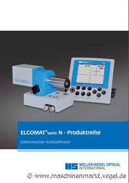 MÖLLER-WEDEL OPTICAL GmbH || Download || ELCOMAT® vario N Produktreihe - MM Maschinenmarkt