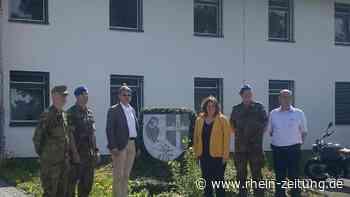 FDP-Bundestagsabgeordnete zu Gast: Sandra Weeser besucht das Sanitätsregiment Rennerod - Rhein-Zeitung