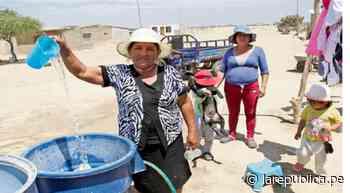 Exigen al Estado solucionar problema de agua contaminada en Pacora y Mórrope - LaRepública.pe