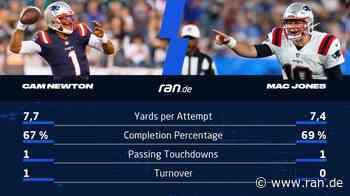 Mac Jones vs. Cam Newton: Der Stand im Quarterback-Duell nach den Preseason-Spielen - RAN