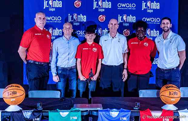 NBA & Basketball Wales launch country's first Jr. NBA League