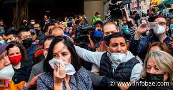 """""""No es víctima"""": acusan """"montaje"""" en el ataque a Lía Limón frente al Congreso - infobae"""