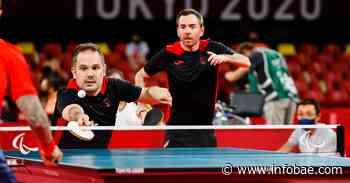 JJ.PP/Tenis de mesa.- Álvaro Valera y Jordi Morales pierden contra Gran Bretaña y se quedan con el bronce - infobae