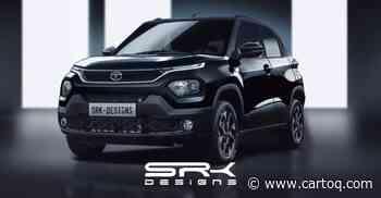 Tata Punch rendered in Dark Edition guise: Will rival Maruti Suzuki Ignis - CarToq.com